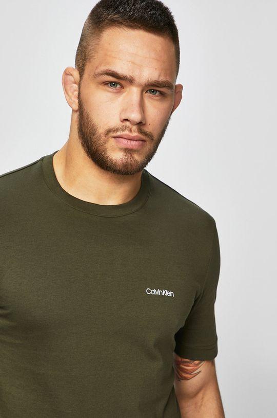 zelená Calvin Klein - Tričko Pánský