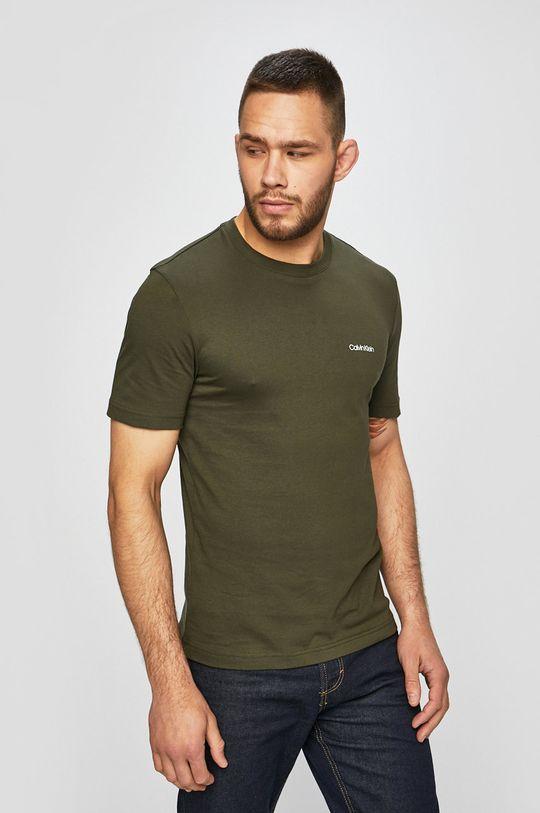 zelená Calvin Klein - Tričko