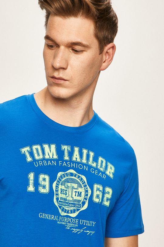morski Tom Tailor Denim - T-shirt Męski