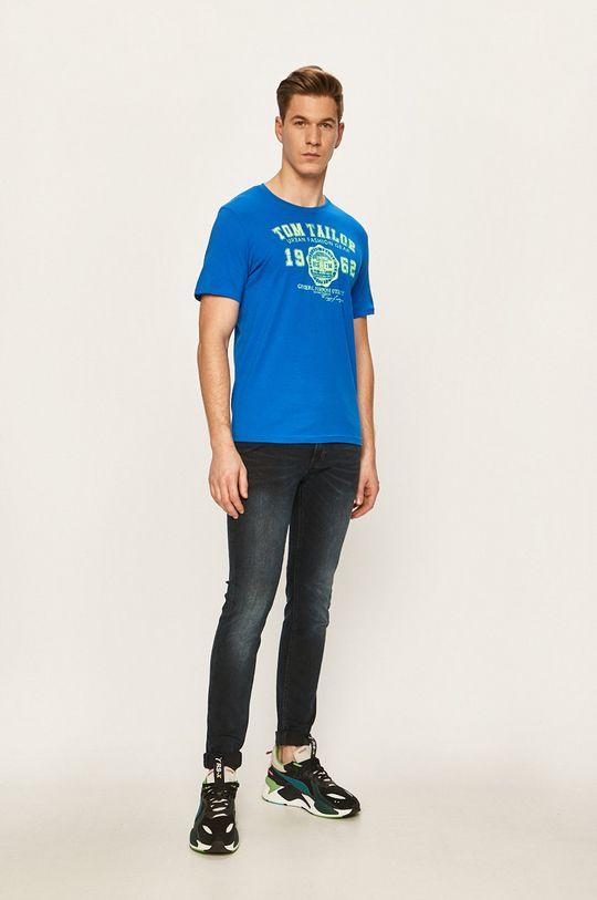 Tom Tailor Denim - T-shirt morski