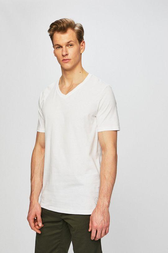 fehér Tom Tailor Denim - Póló (2 darab) Férfi