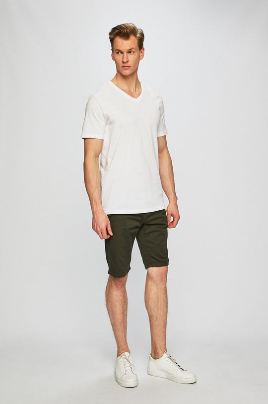 Tom Tailor Denim - Póló (2 darab) fehér