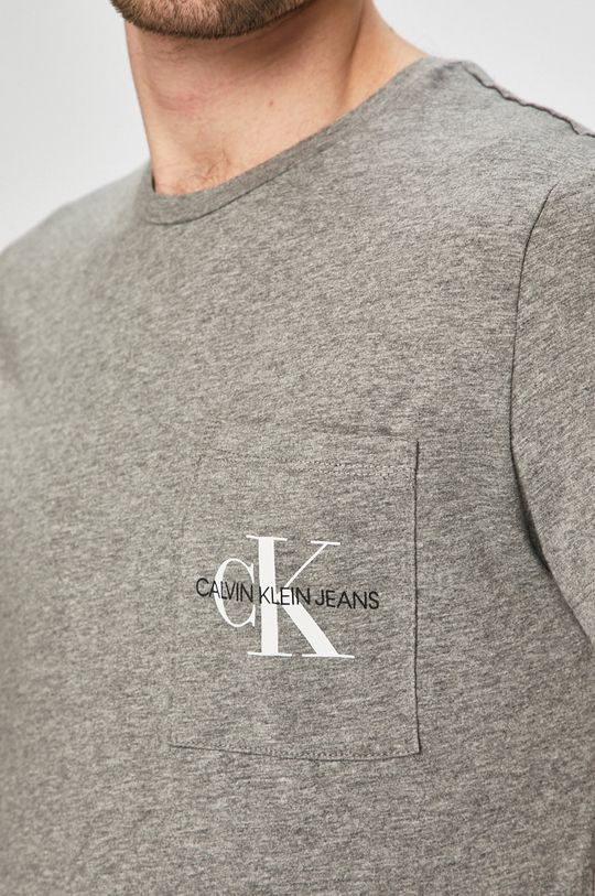 Calvin Klein Jeans - Tričko šedá
