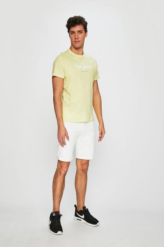 Pepe Jeans - Tričko žlutá