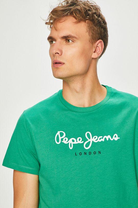 zelená Pepe Jeans - Tričko