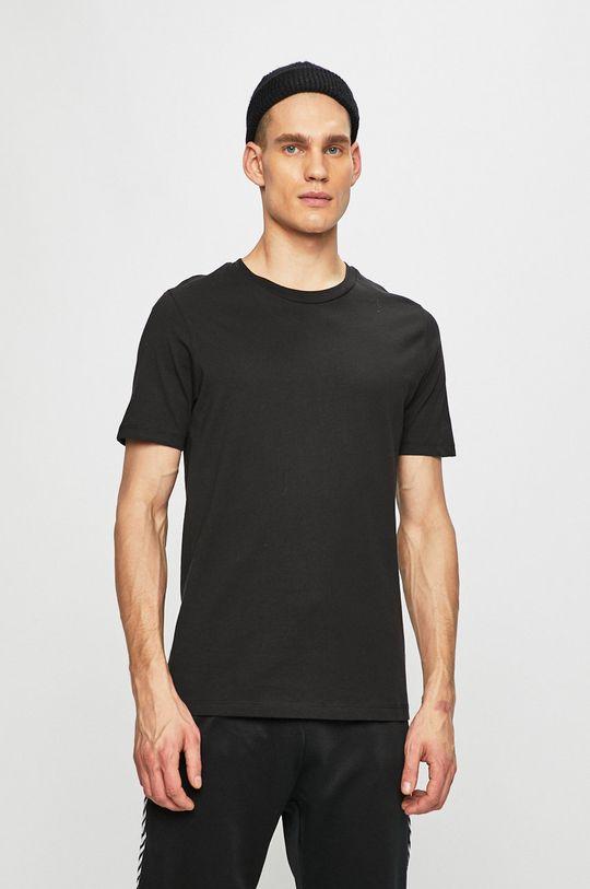 čierna Produkt by Jack & Jones - Pánske tričko Pánsky