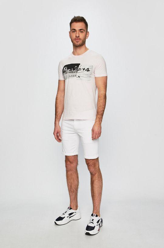 Pepe Jeans - Póló Stepney lila