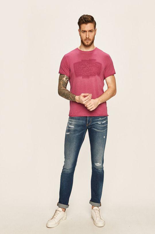 Pepe Jeans - Tričko růžová