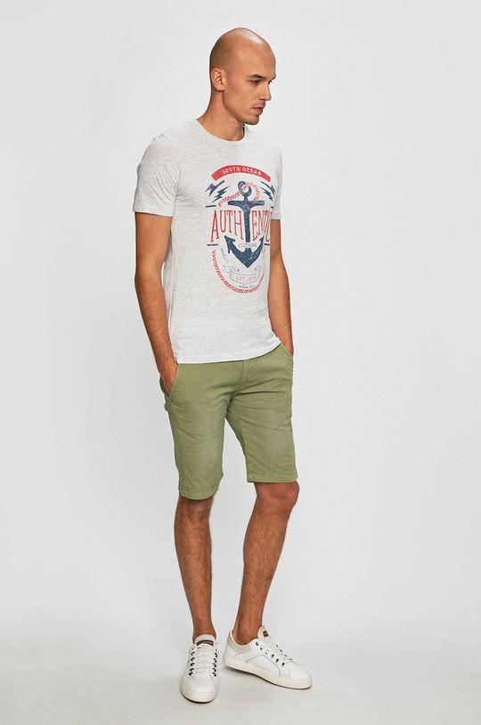 Produkt by Jack & Jones - Pánske tričko sivá