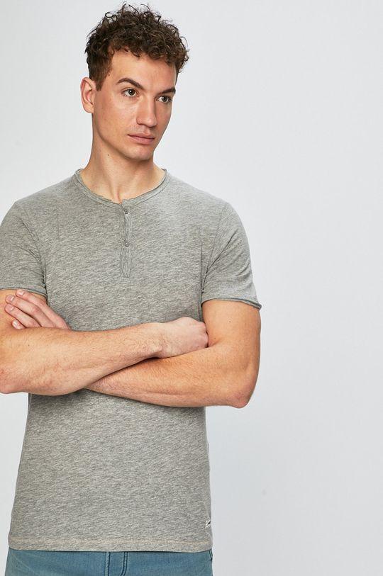 svetlosivá Produkt by Jack & Jones - Pánske tričko Pánsky