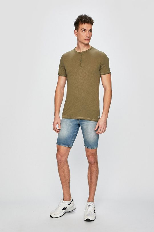 Produkt by Jack & Jones - Pánske tričko olivová