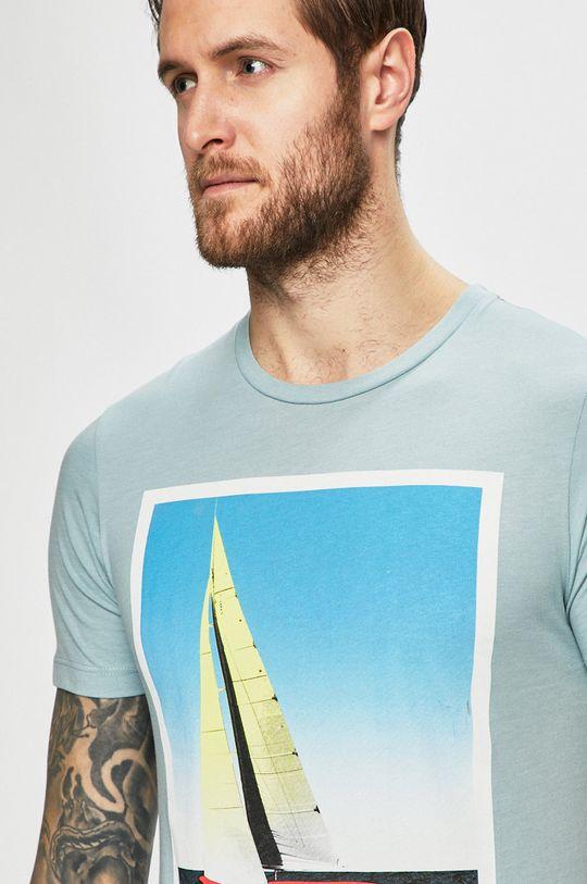 svetlomodrá Produkt by Jack & Jones - Pánske tričko