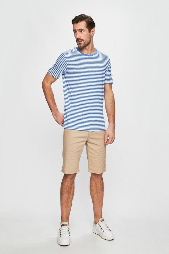 Produkt by Jack & Jones - Pánske tričko modrá