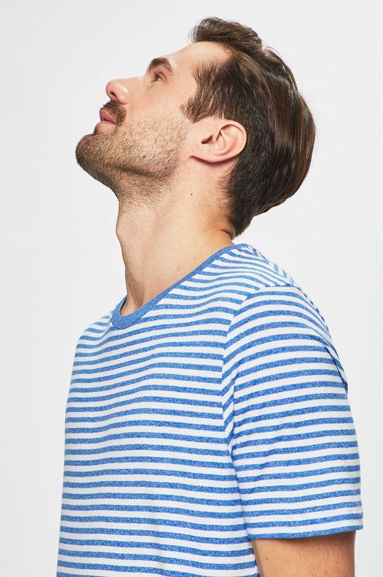 modrá Produkt by Jack & Jones - Pánske tričko