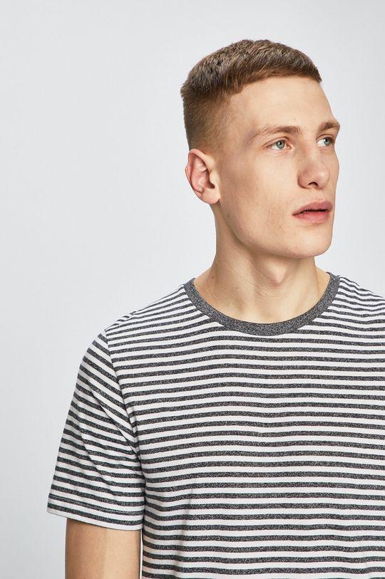 grafitová Produkt by Jack & Jones - Pánske tričko