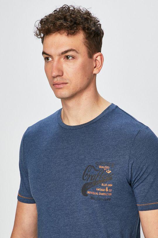 tmavomodrá Produkt by Jack & Jones - Pánske tričko
