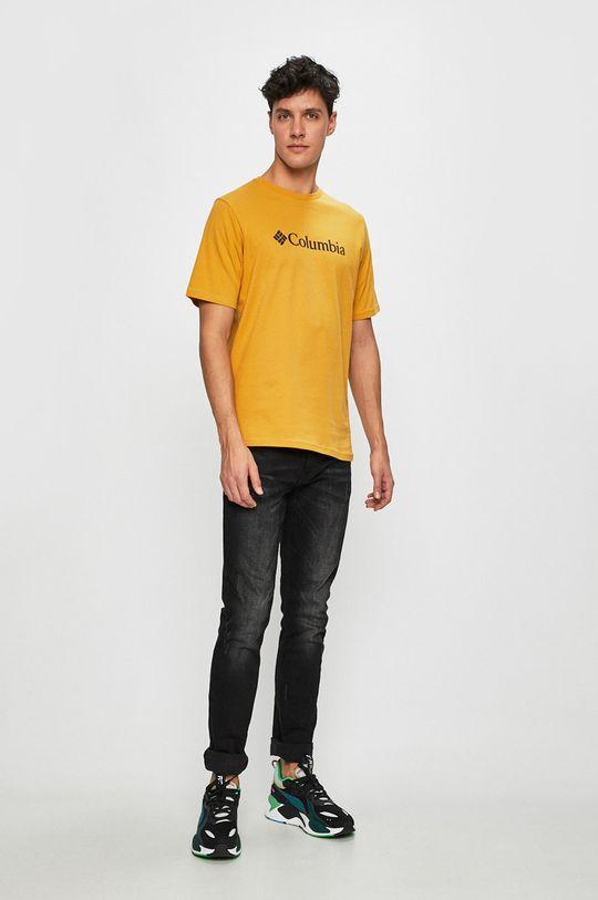 Columbia - Tricou mustar