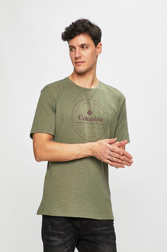 verde murdar Columbia - Tricou