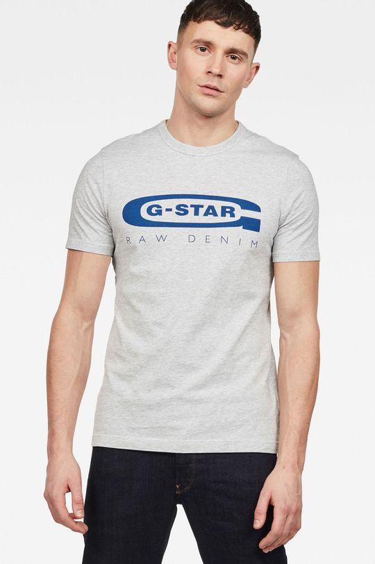 světle šedá G-Star Raw - Tričko Pánský