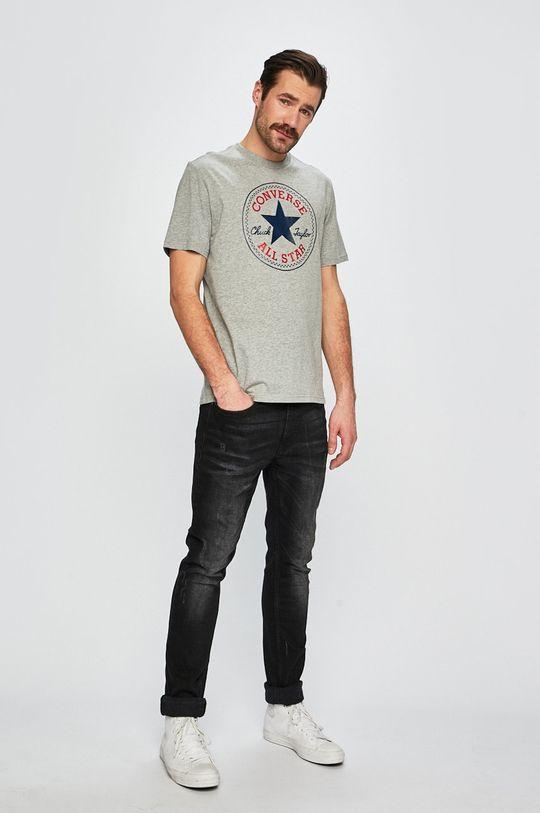 Converse - T-shirt szary