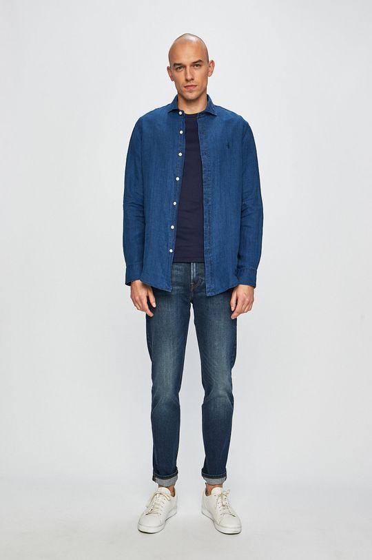 Polo Ralph Lauren - Pánske tričko tmavomodrá