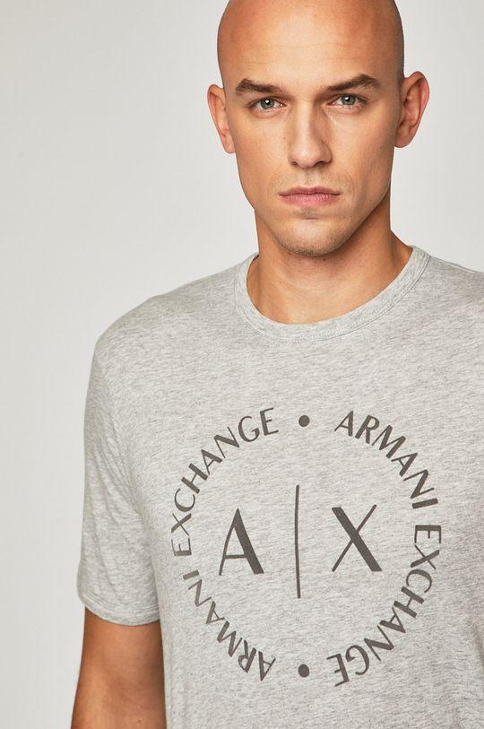 sivá Armani Exchange - Pánske tričko