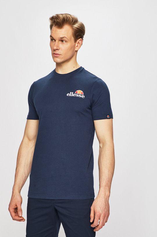granatowy Ellesse - T-shirt Męski