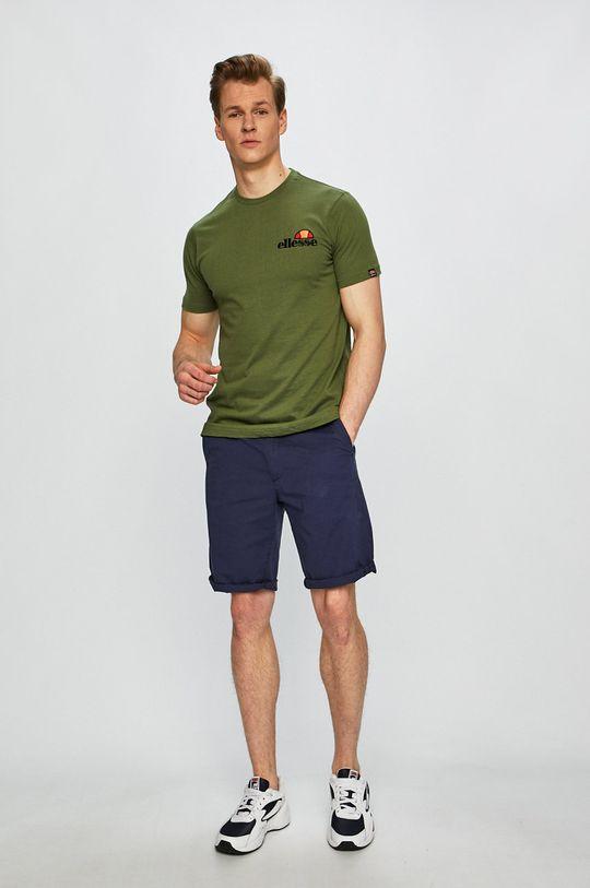 Ellesse - T-shirt ciemny zielony