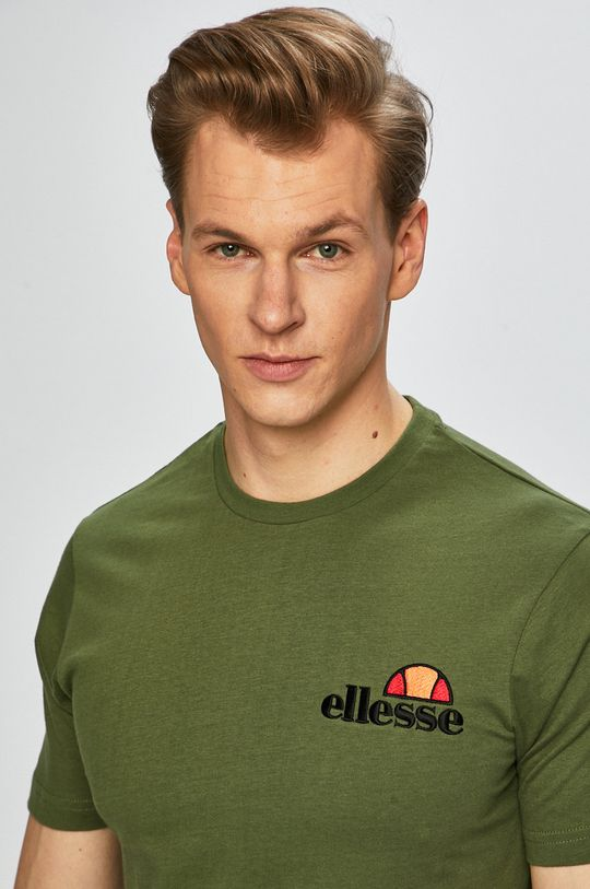 ciemny zielony Ellesse - T-shirt