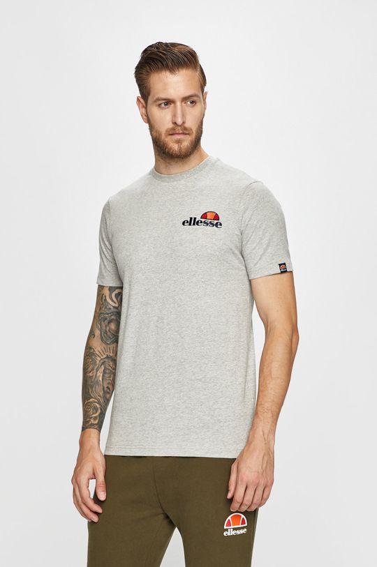 szary Ellesse - T-shirt Męski
