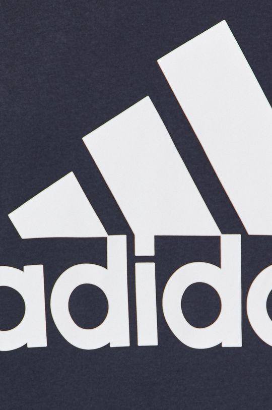 tmavomodrá adidas Performance - Pánske tričko