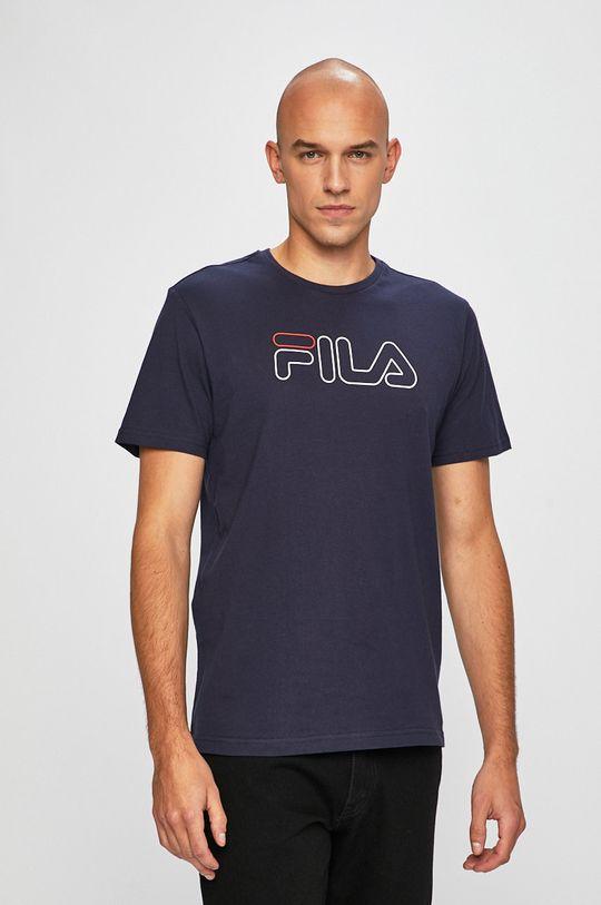 tmavomodrá Fila - Pánske tričko
