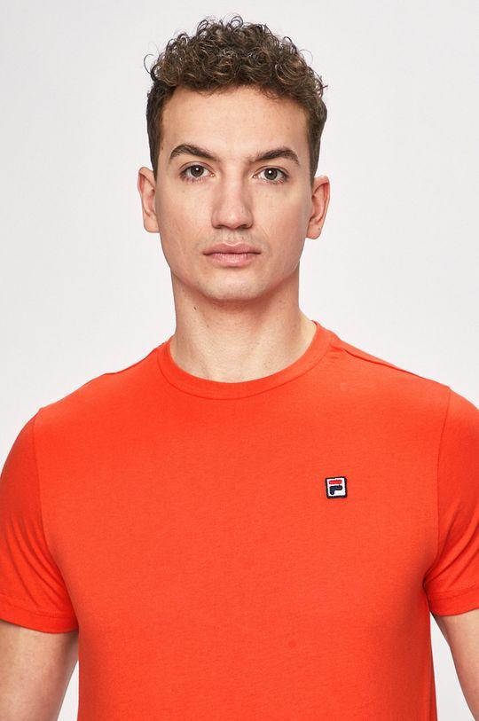 brzoskwiniowy Fila - T-shirt