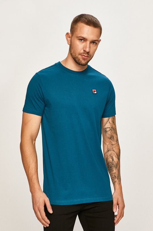 ocelová modrá Fila - Tričko Pánský