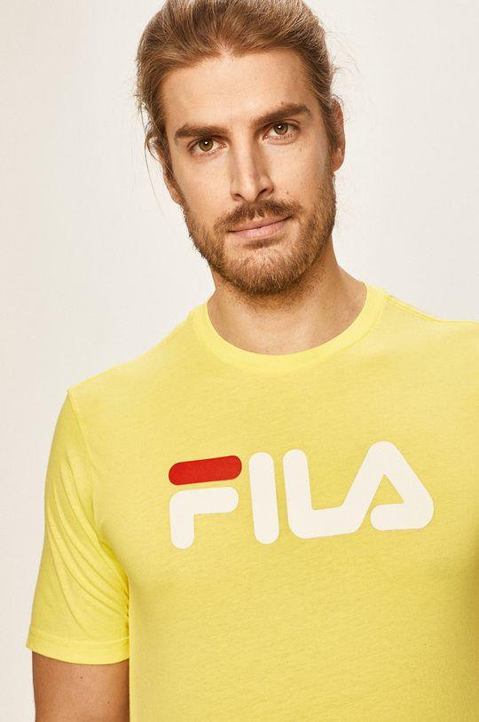 jasny żółty Fila - T-shirt