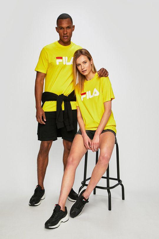 żółty Fila - T-shirt Męski