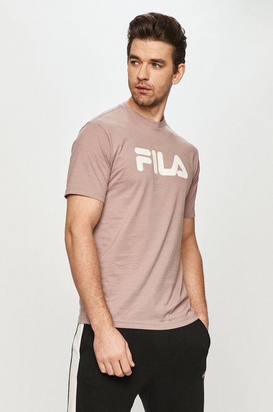 ružovofialová Fila - Tričko Pánsky
