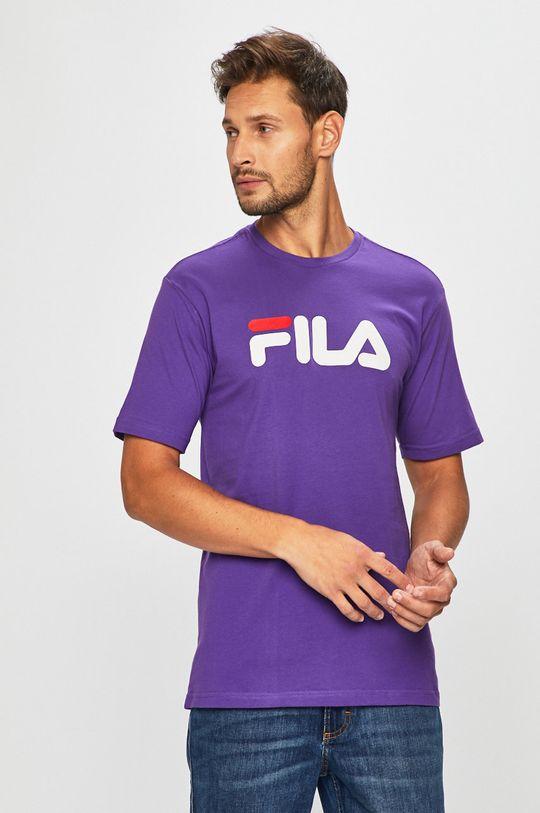 fialová Fila - Pánske tričko Pánsky