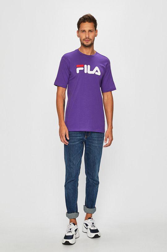 Fila - Pánske tričko fialová