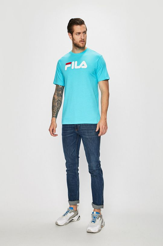 FILA - T-shirt/polo 681093 niebieski