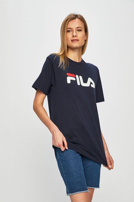 Fila - T-shirt granatowy