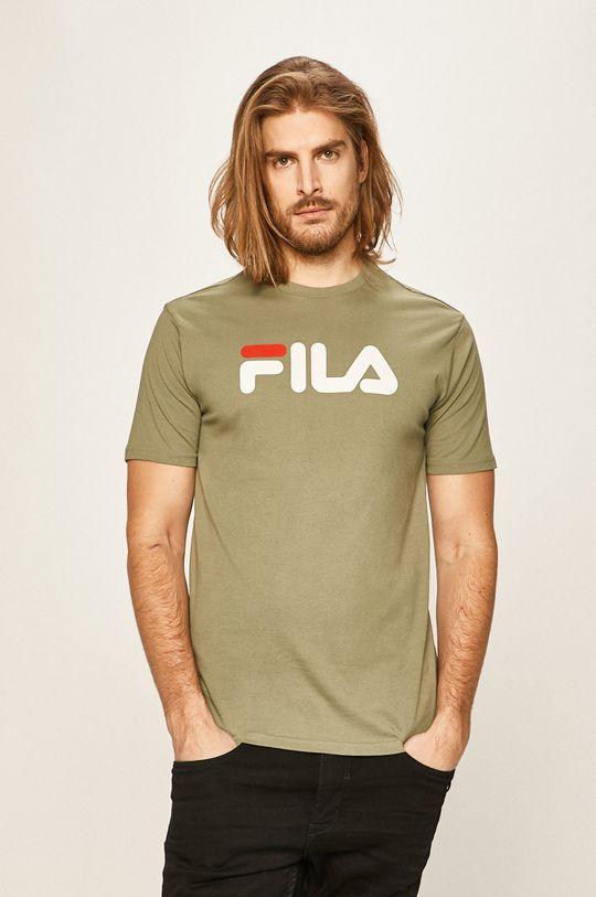 brudny zielony Fila - T-shirt