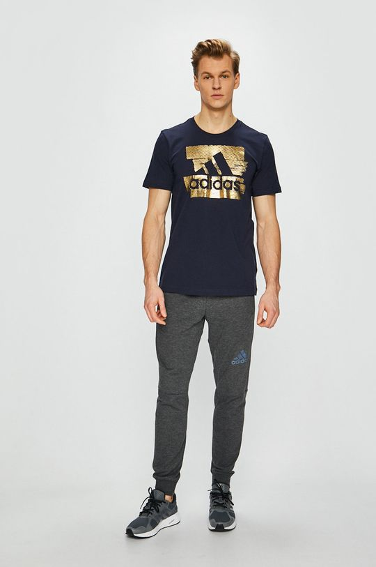 adidas Performance - Pánske tričko tmavomodrá