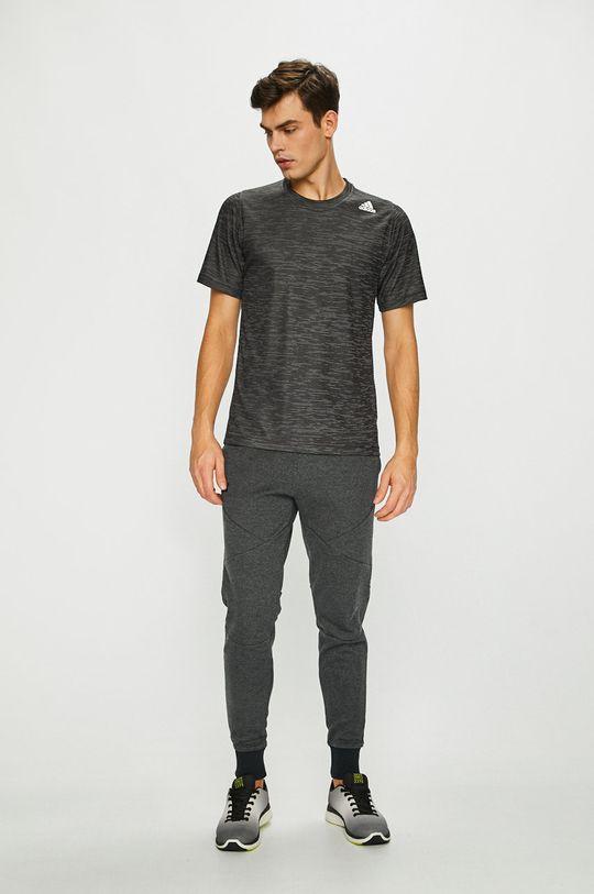 adidas Performance - Pánske tričko grafitová