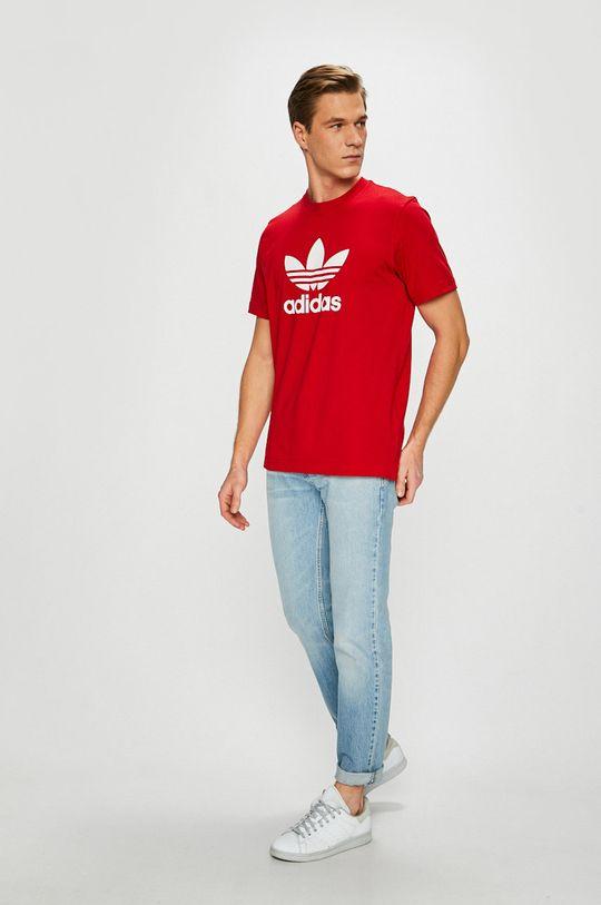 adidas Originals - Pánske tričko červená