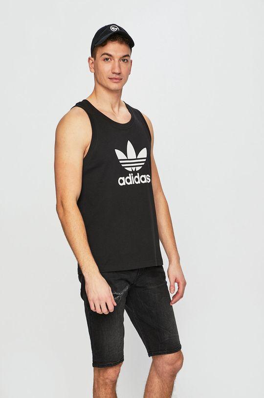 černá adidas Originals - Tričko Pánský
