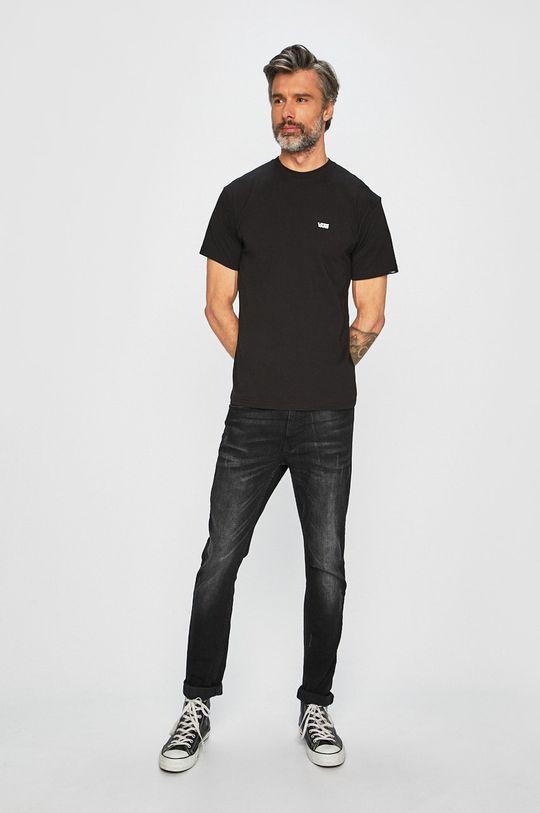 Vans - Pánske tričko čierna