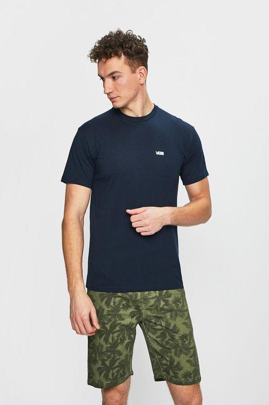 tmavomodrá Vans - Pánske tričko Pánsky
