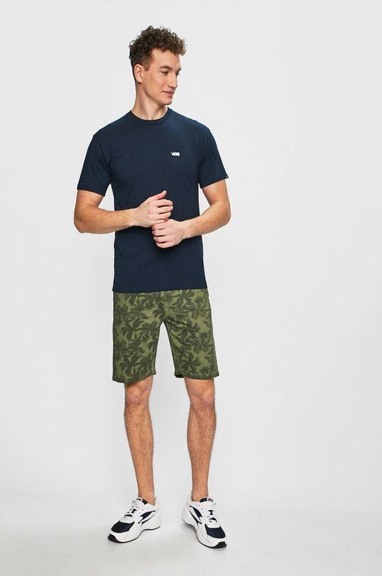 Vans - Pánske tričko tmavomodrá