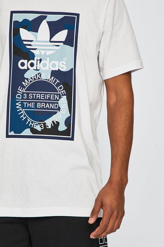 biela adidas Originals - Pánske tričko
